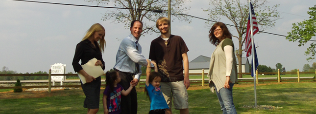 Image of clients with Danville Bankruptcy Attorney John Bymaster