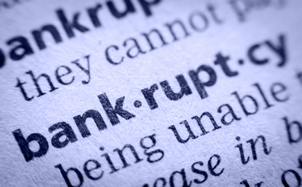 Image of Bankruptcy Definition